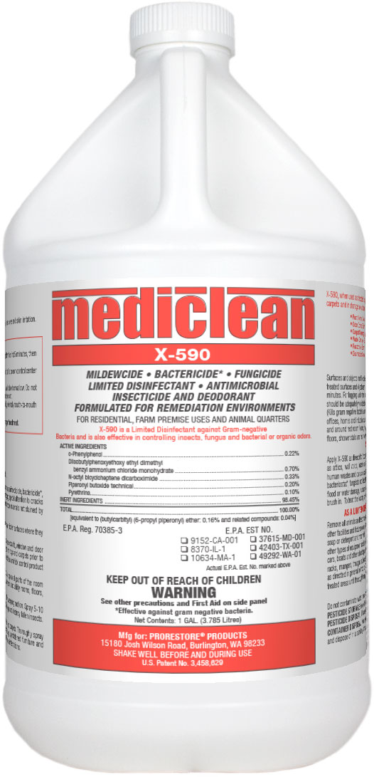 Mediclean X-590 Institutional Spray