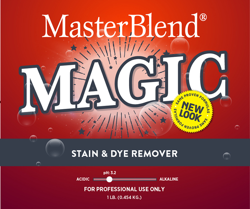 MAGIC DYE & STAIN REMOVER